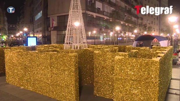 Nova atrakcija u Beogradu: Zlatni lavirint opasna