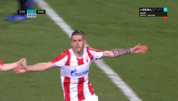 Zvezda - Partizan 2:0, crveno-beli idu ka pobedi