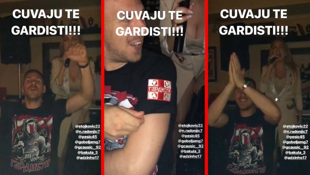 Prsata pevačica pevala Gobeljiću na uvce posle pobede na derbiju