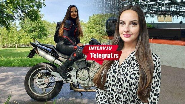 Marija (30) je jedina direktorka u Beogradu koja motocikl vozi na štiklama