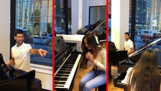 Kad Nole i najseksi pijanistkinja sveta zasviraju klavir